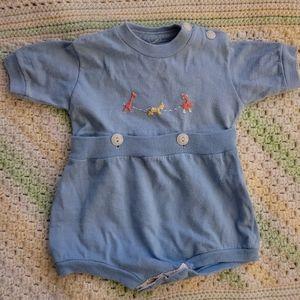 sky blue jumper for baby